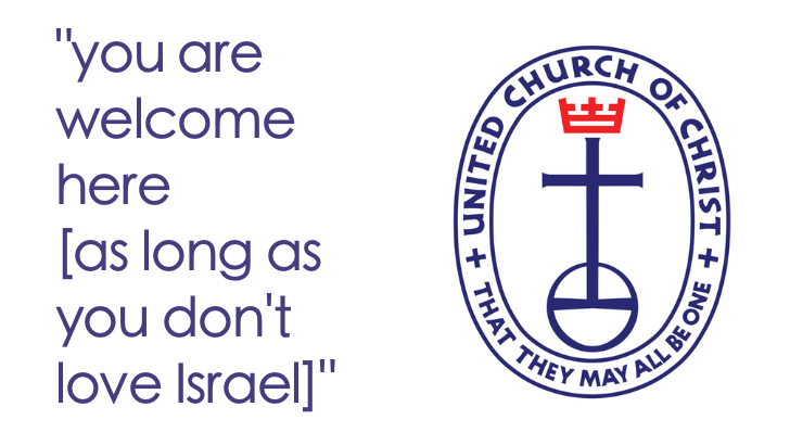 United Church of Christ Unwilling to Learn Facts About Israel