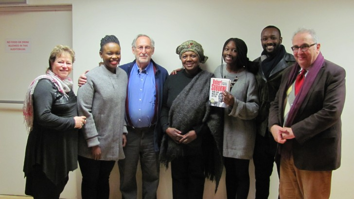 A successful launch of Robert Sobukwe' biography